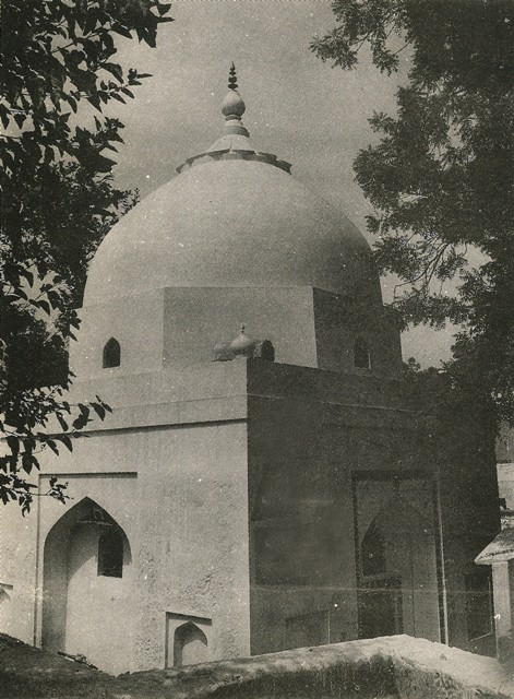an old picture of  dargah aarif ali shahjpg