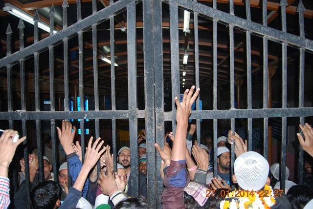 shia youth arrested at the behest of wakf land mafia ahmed patel coming out of tihar jail 2.jpg